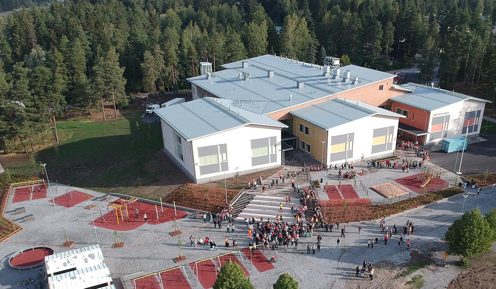 Kurittulan uusi koulu